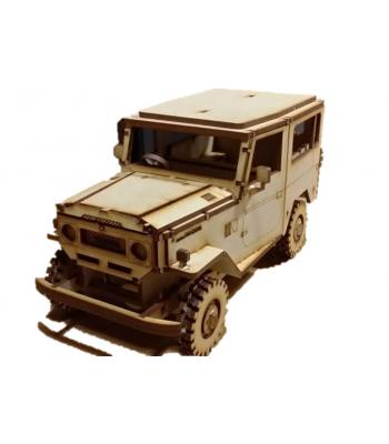 Land Cruiser FJ40 3D puzzle