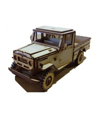 Land Cruiser FJ45 pickup 3D puzzle