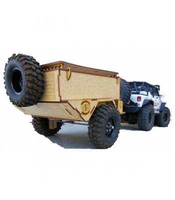 Scale 1:10 Off-Road trailer kit