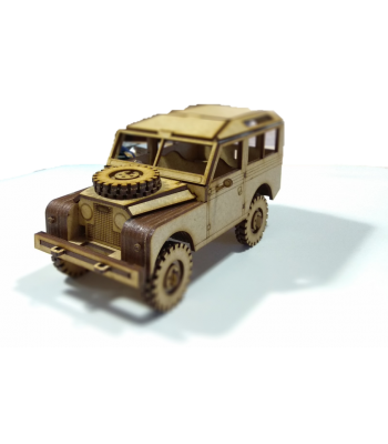 Land Rover Series 2 SWB 3D puzzle