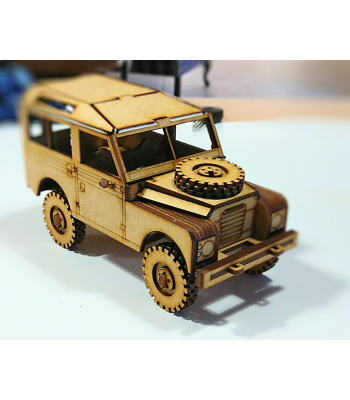 Land Rover Series 2A / 3 SWB 3D puzzle