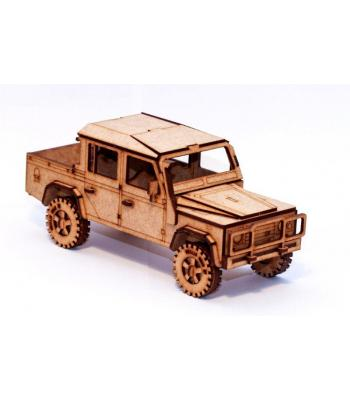 Land Rover Defender 110 Double Cab 3D puzzle