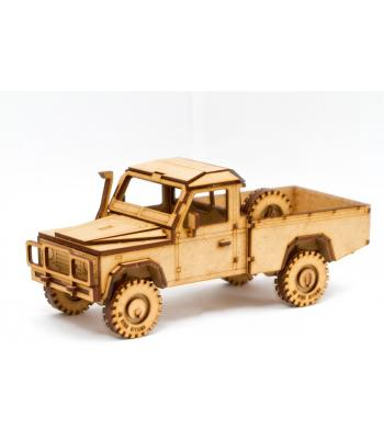 Land Rover Defender 110 High Capacity Pickup 3D puzzle