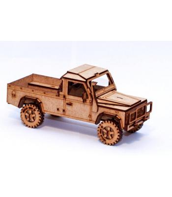 Land Rover Defender 110 Pickup 3D puzzle