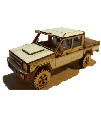 Land Cruiser 3D puzzle series 79 double cab 3D puzzle