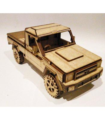Land Cruiser series 79 pickup 3D puzzle